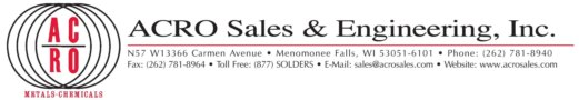 Acro Sales & Engineering, Inc.